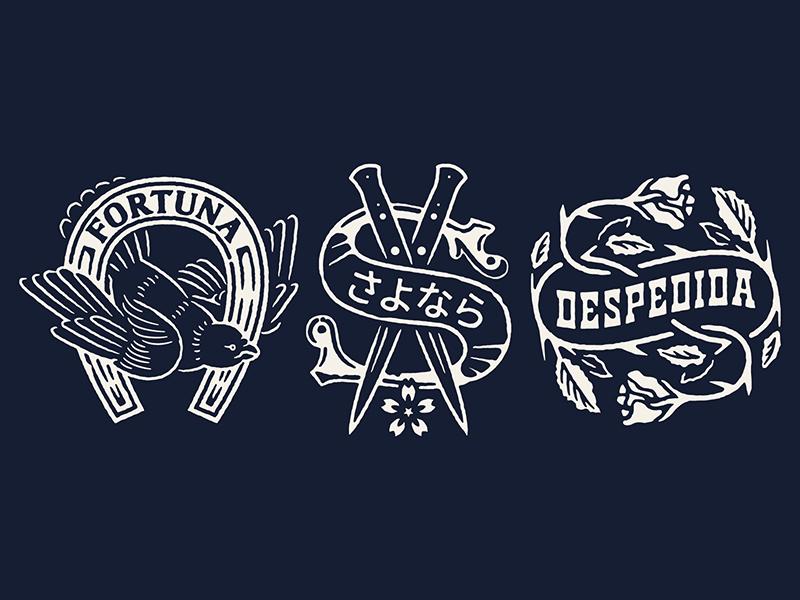 南美风情!24款德州风格Logo设计