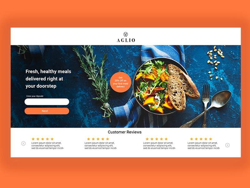 美食有出处!12组餐厅网页设计