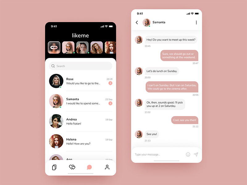 12组客户端对话界面设计