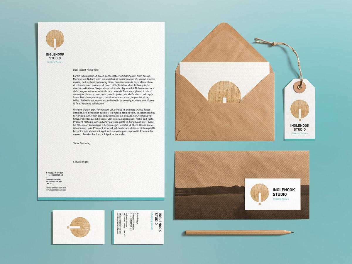 简约与传统!木材品牌VI视觉设计