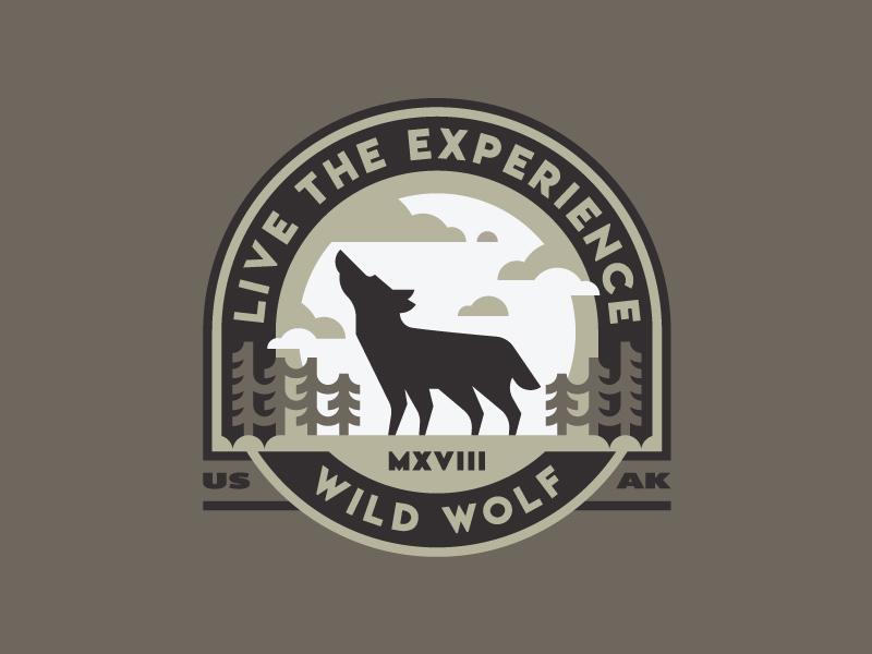 凶猛掠食者!20款野狼元素Logo设计