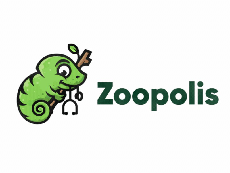 可爱萌趣!24款趣味卡通Logo设计