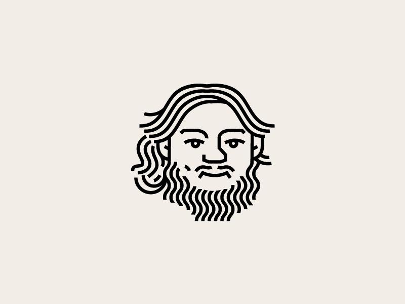 柔顺丝滑!30款头发元素Logo设计