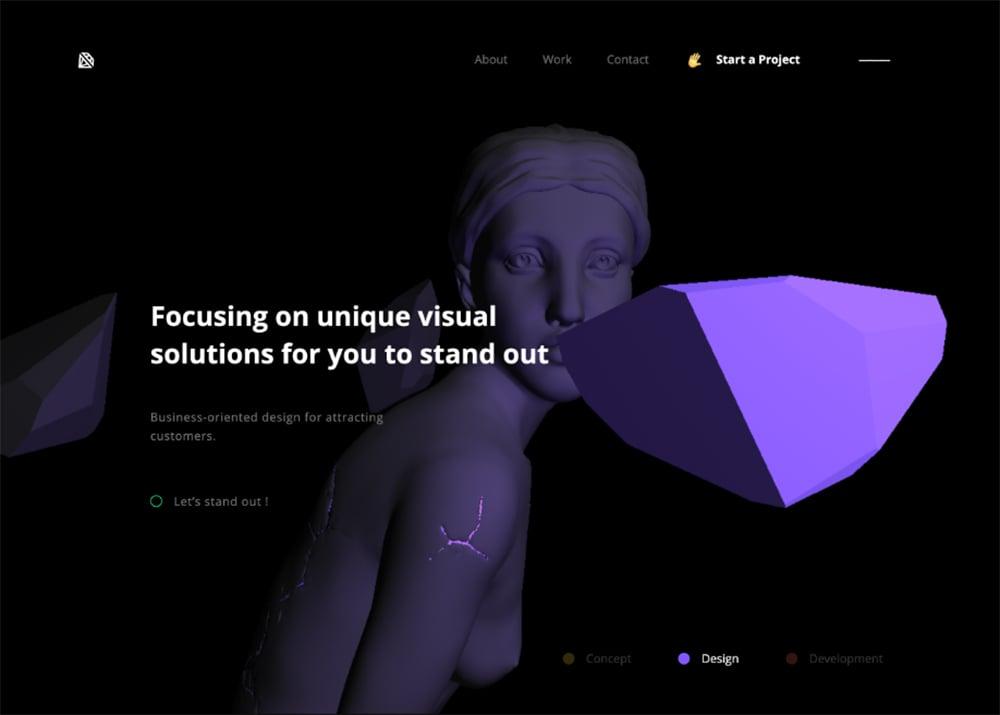 3D素材在Banner设计中的创意展示!