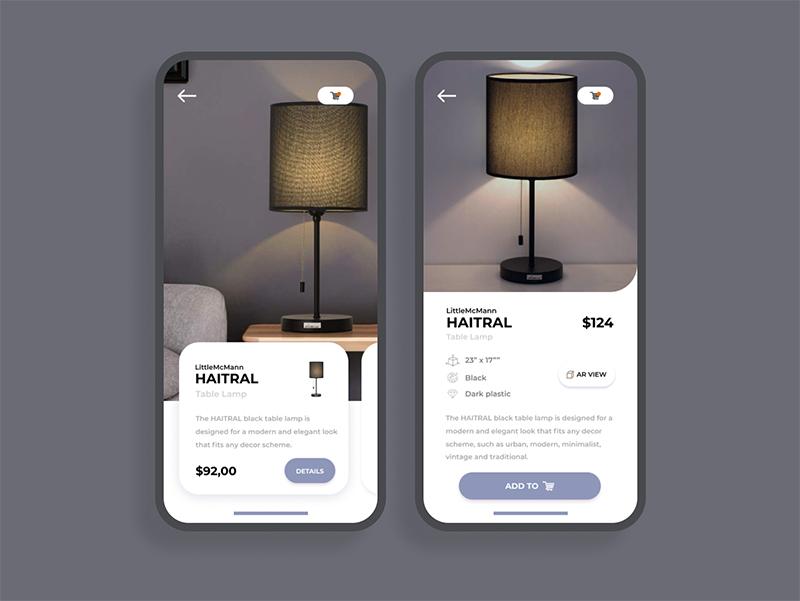 漂亮!12组灯具类页面设计