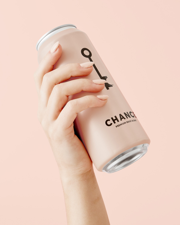 粉色的优雅!葡萄酒包装设计