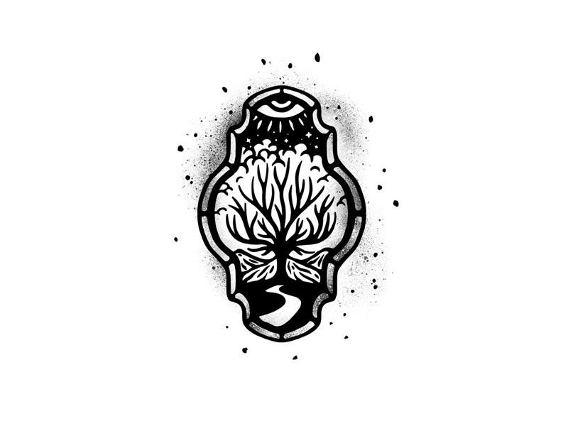 北欧风格!20款插画图形Logo设计