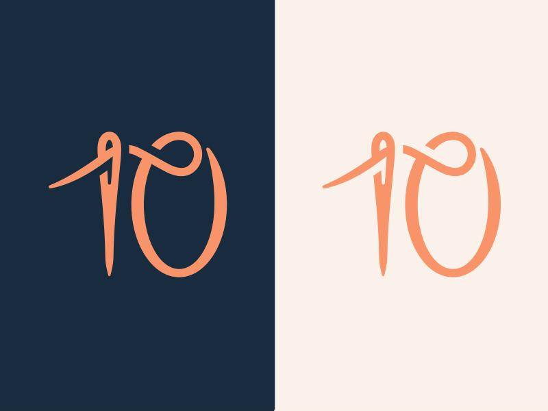 穿针引线!20款针线元素Logo设计