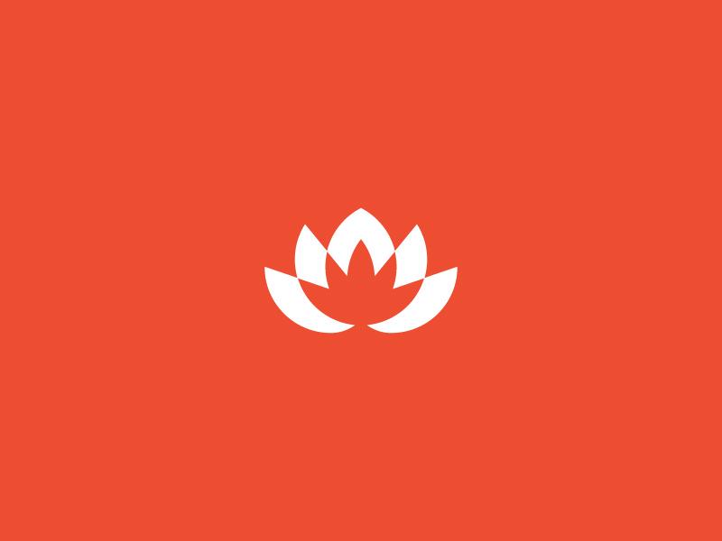 出水芙蓉!16款荷花元素Logo设计