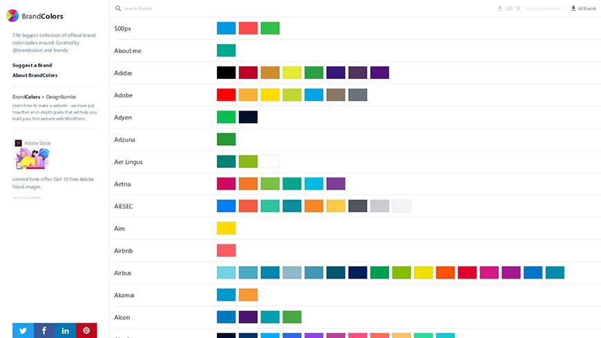 设计师必备!13个让你灵感迸发的配色网站