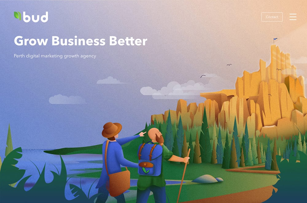 插画在Banner设计中的创意表达形式!