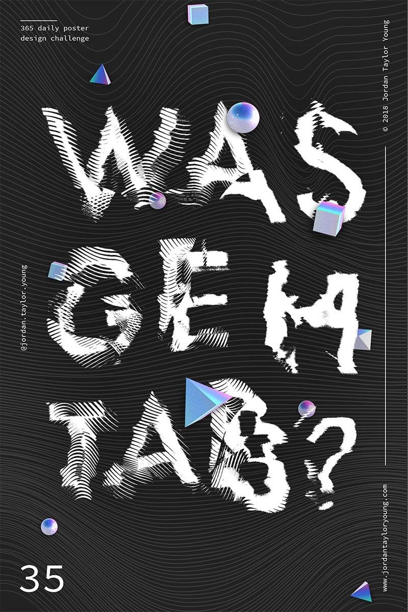 22款Jordan Taylor Young创意海报设计