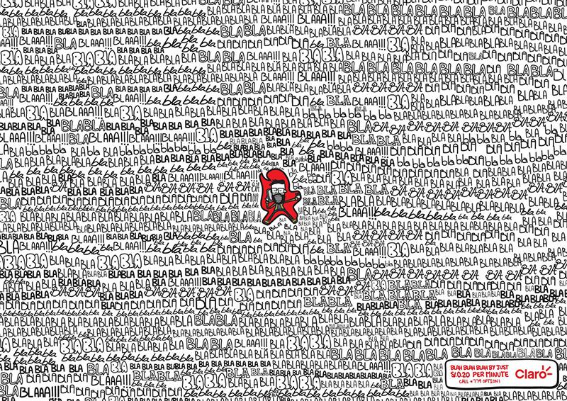 趣味十足!16款Claro产品海报