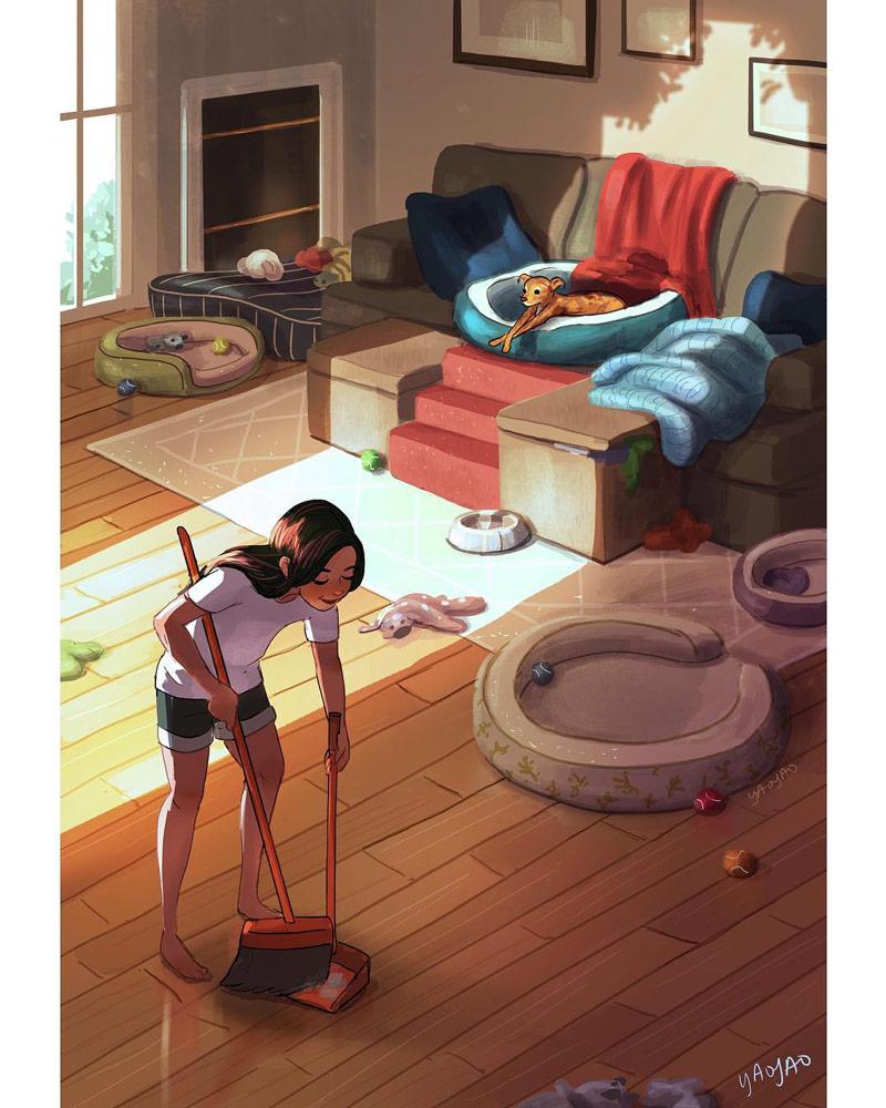 一个人也精彩!单身生活系列插图