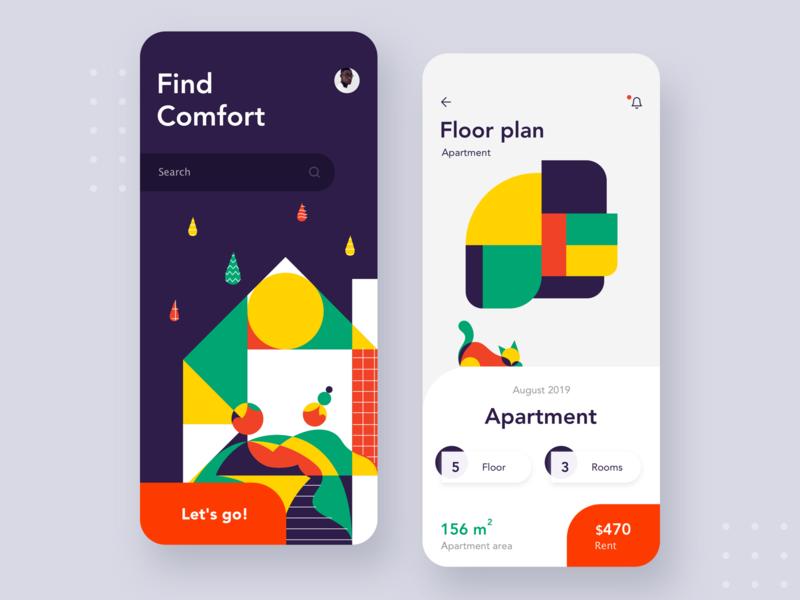 搜一下~12组手机app搜索引擎界面设计灵感