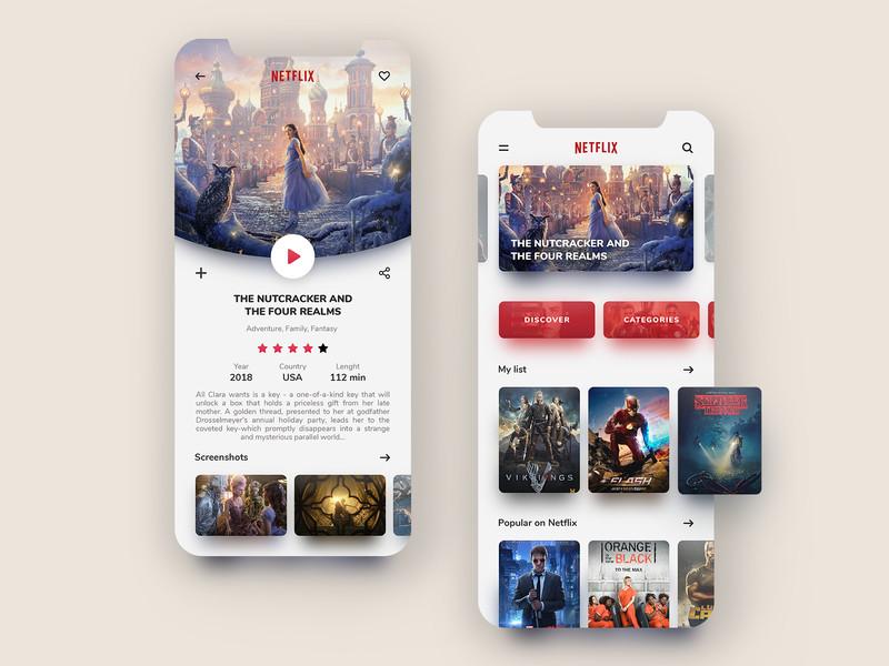 便利又美观!12组视频app界面设计灵感