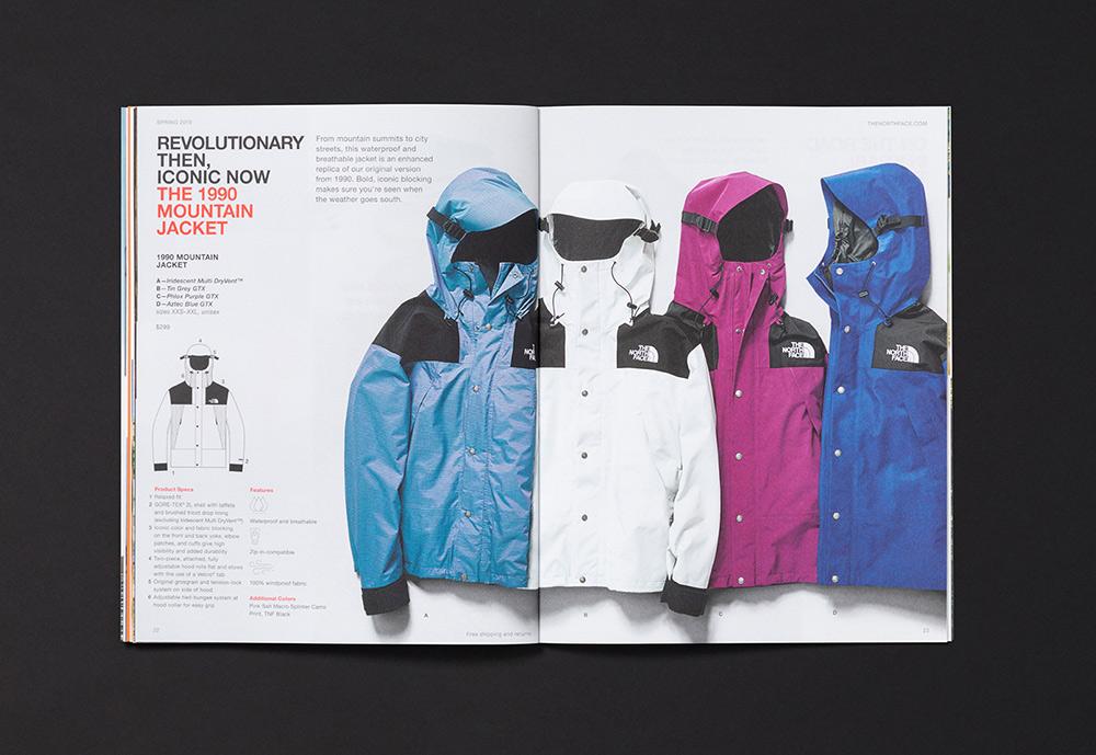 春季新品!户外服装产品手册设计