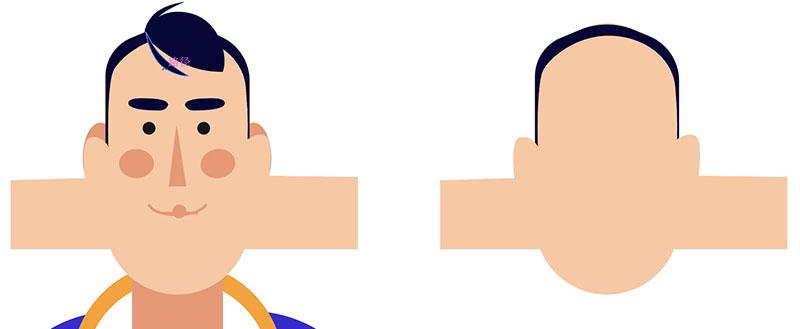 AE教程!教你用Duik16插件制作脸部表情动效