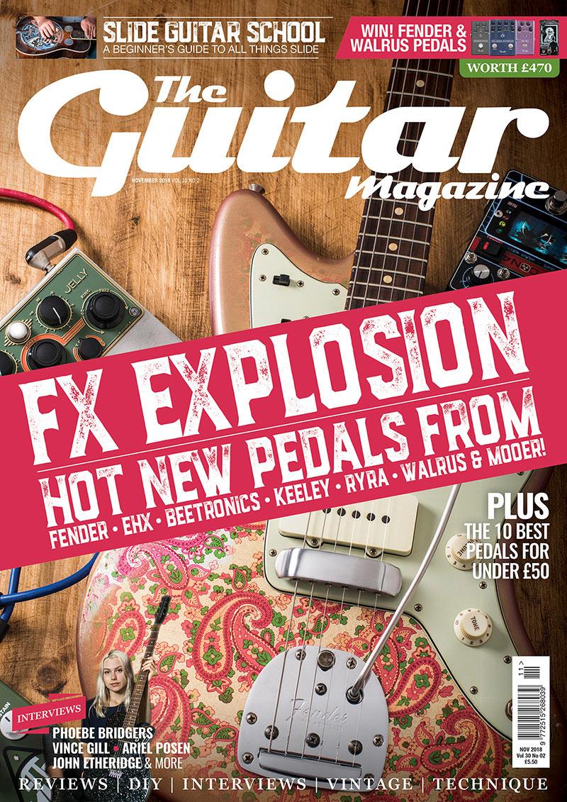 优秀排版!杂志《The Guitar Magazine》封面设计
