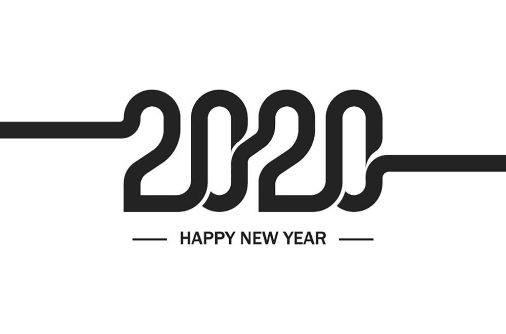 新年愉快!28款2020Logo设计
