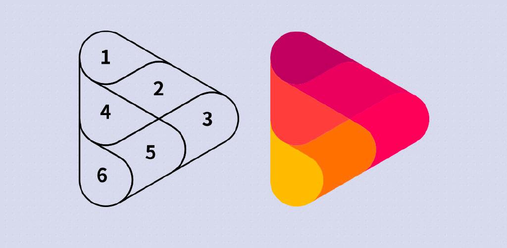 AI教程!5步制作三角LOGO