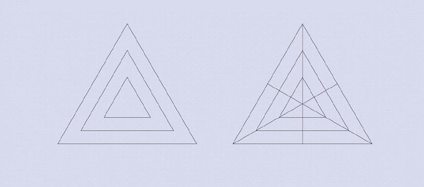 AI教程!5步学会渐变三角LOGO