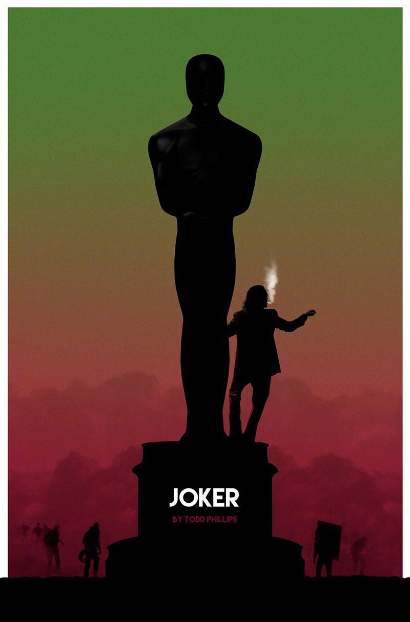 奥斯卡提名影片的艺术海报