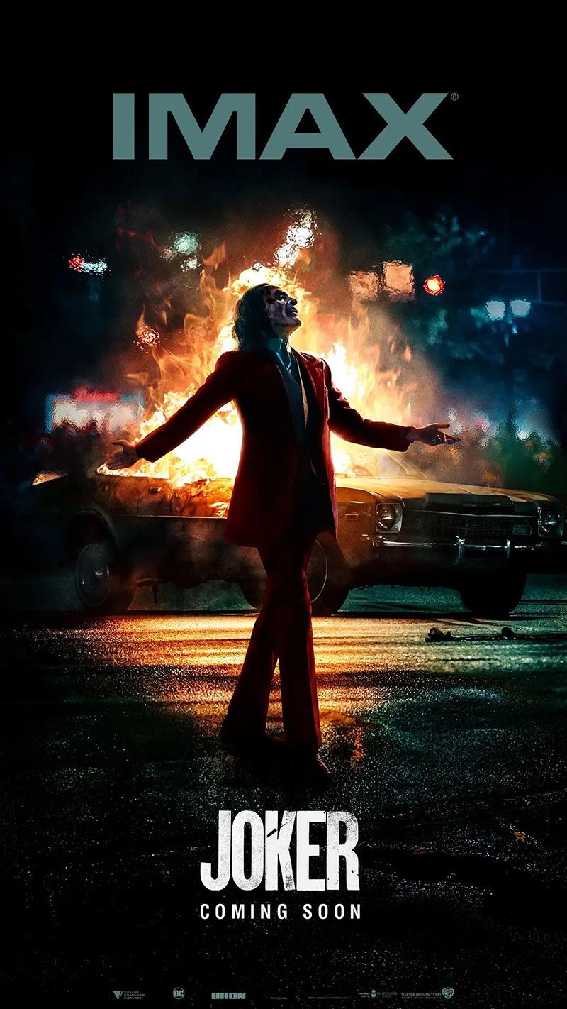 76款《小丑》正式版+艺术版电影海报
