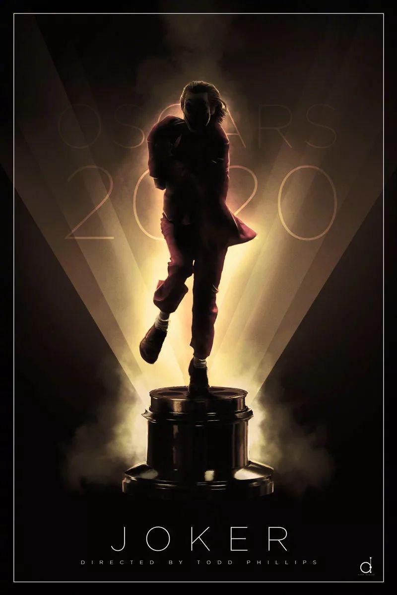 第92届奥斯卡艺术海报设计