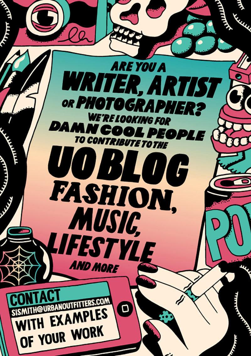 个性插画!20款Kate Prior趣味海报设计