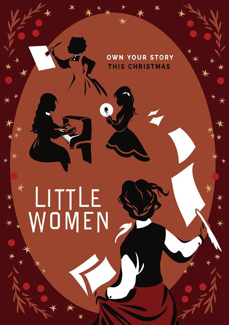 奥斯卡最佳服装奖《小妇人》正式版+艺术版海报