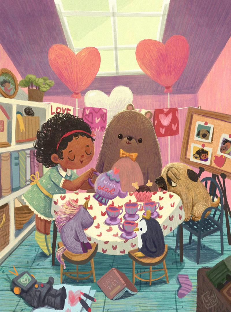 12款色彩明亮的儿童插画灵感