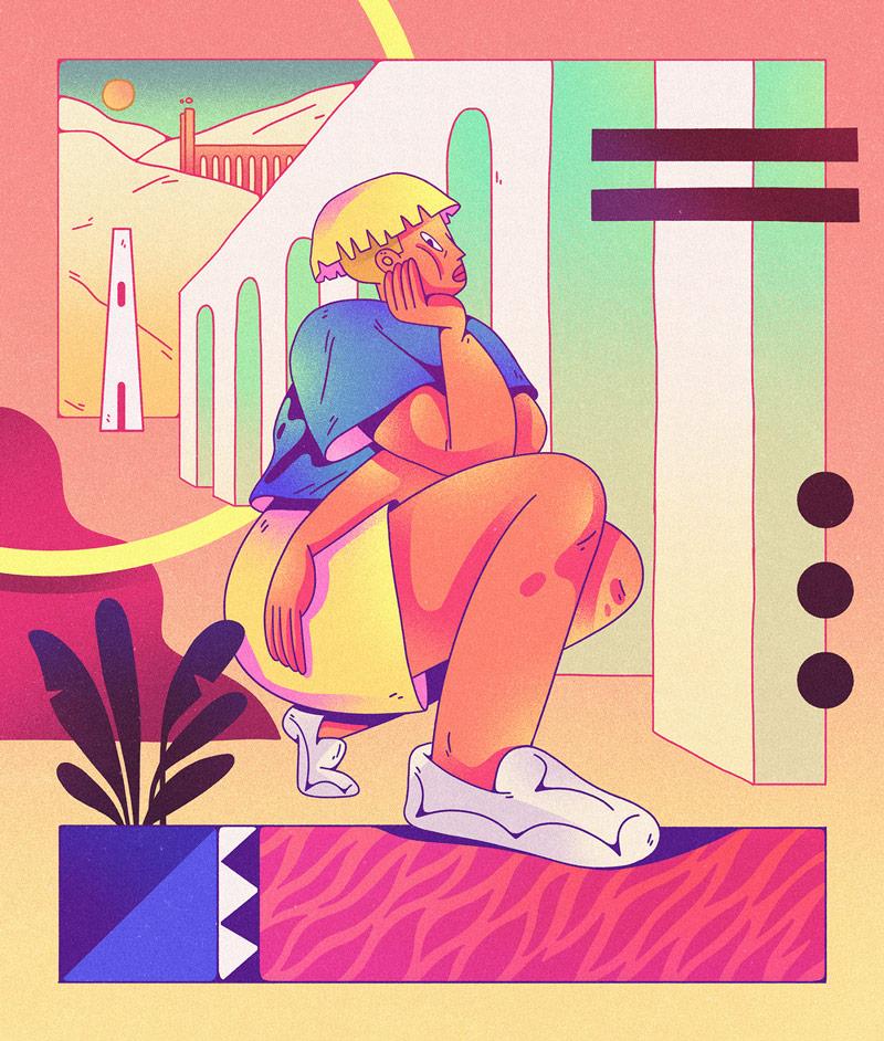 创意感十足!9款抽象人物漫画