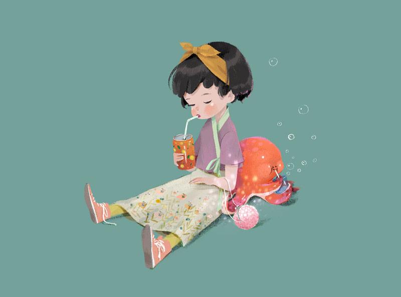 温暖可爱!儿童读物插画灵感