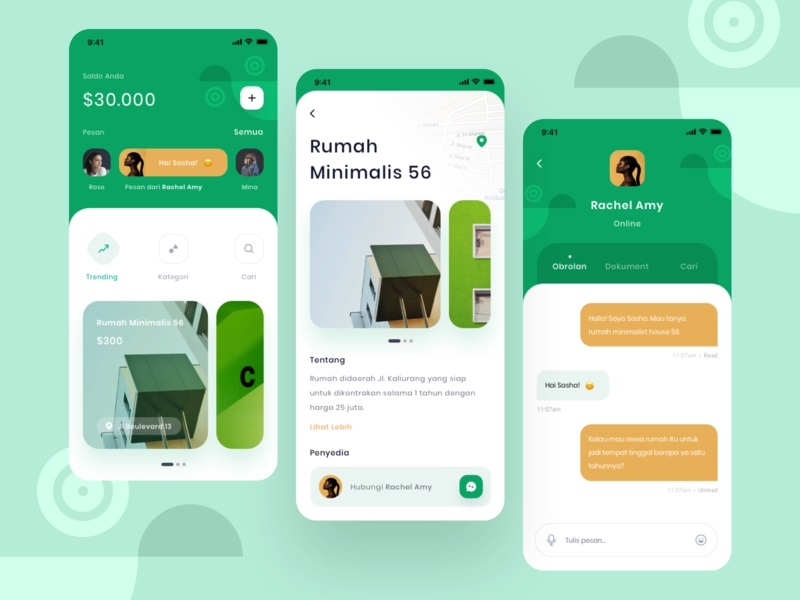 社交生活!12组社交聊天App界面设计灵感