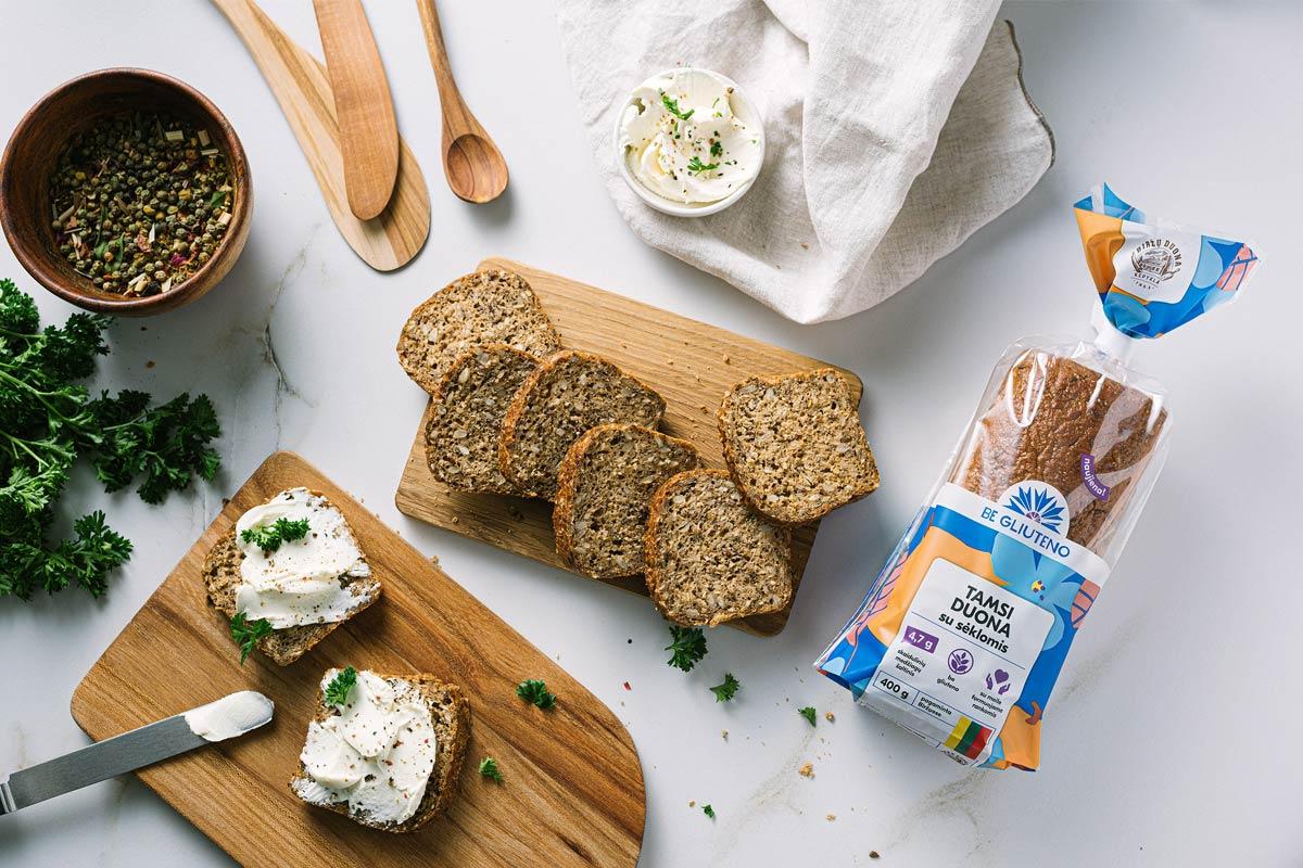 健康有机!面包包装设计