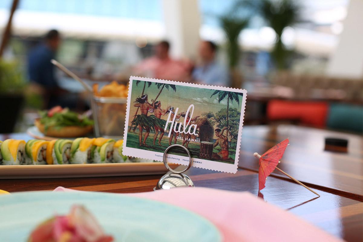 热带风情!餐厅VI设计