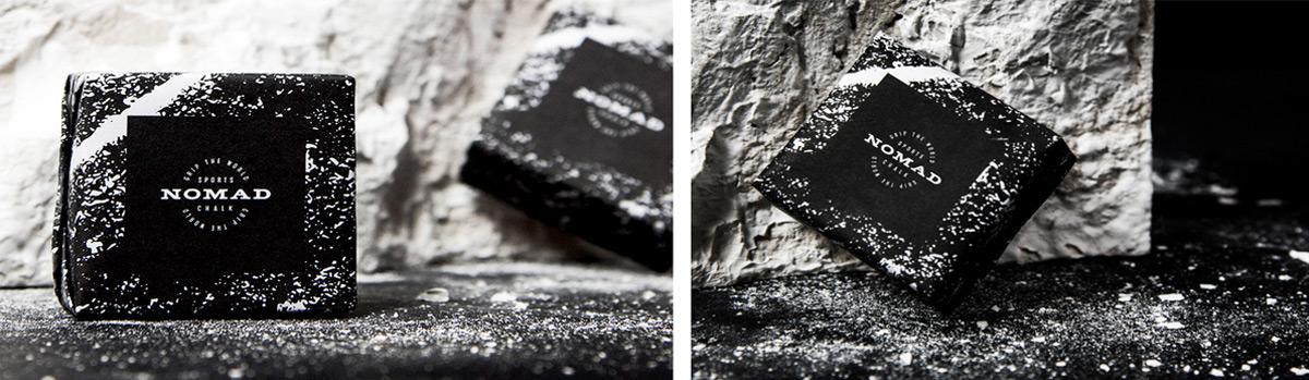 纹理的力量感!运动镁粉品牌VI设计