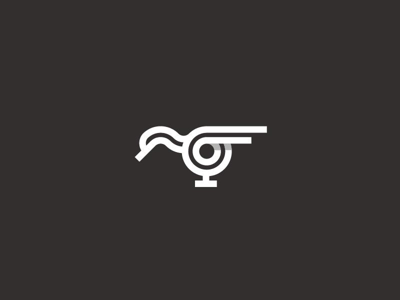 抽象线条!34款简洁生动Logo设计