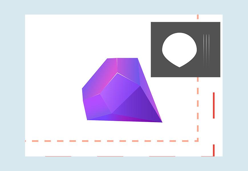 AI教程!教你做渐变风格扁平图标