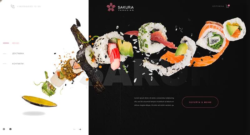 垂涎欲滴!16个美味寿司Banner设计