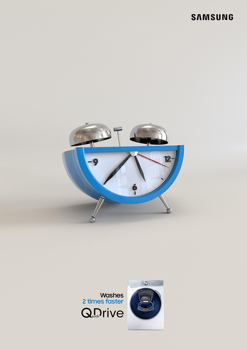 18个三星电器产品宣传海报设计