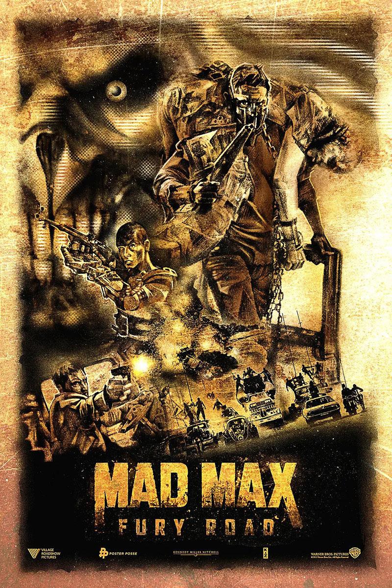 《疯狂的麦克斯4:狂暴之路》艺术海报(二)