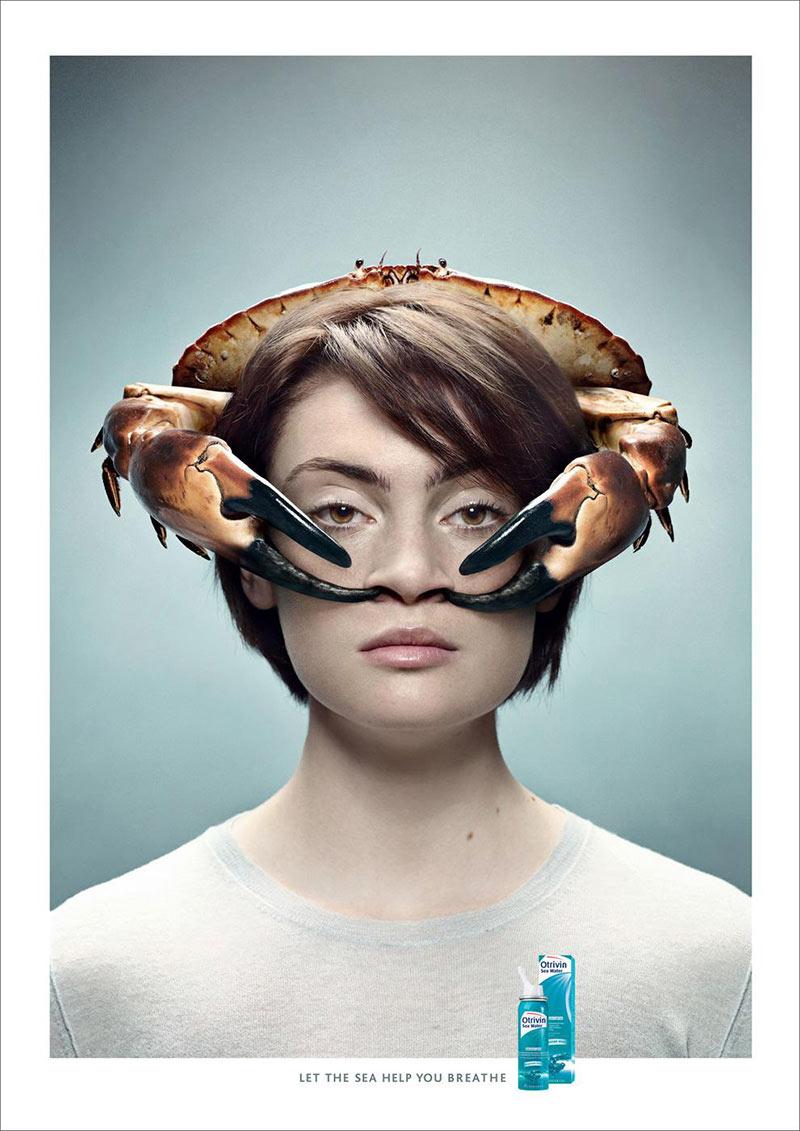 Otrivin创意产品广告海报
