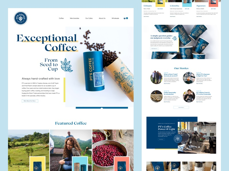 Jason Kirtley—PT's Coffee Homepage