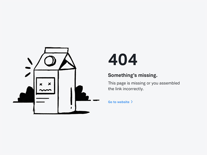 OpenNode 404 by Filipe for Significa in Opennode