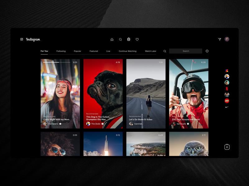 「视」在生活!12组影视网页界面设计灵感