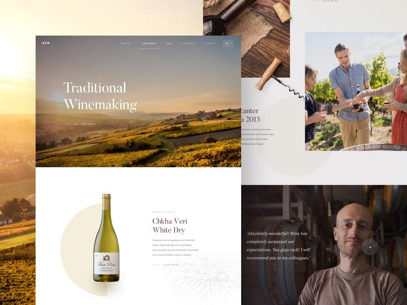 Martin Strba—Winery - Landing Page