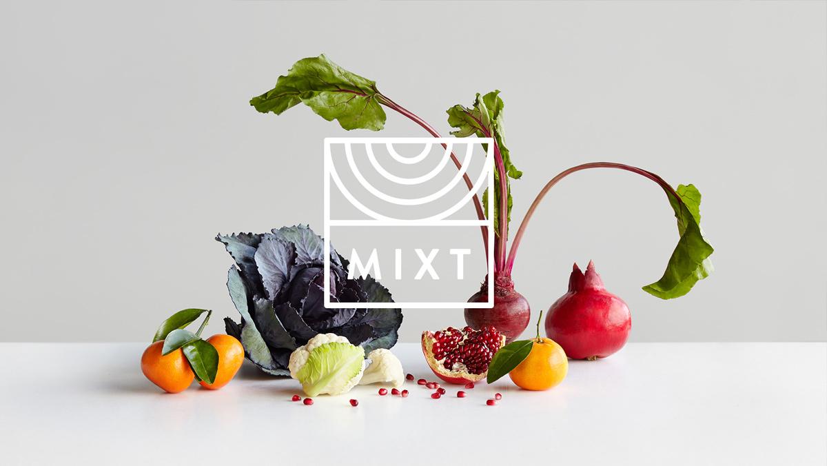 简约与健康!沙拉品牌VI设计