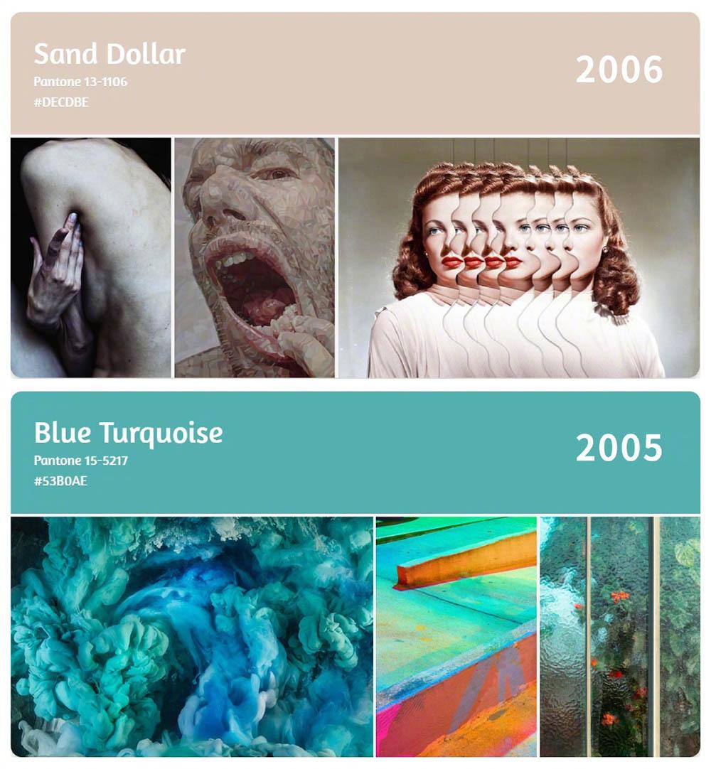 超全面!2003-2020年的年度流行色